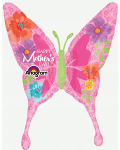 "37"" Mom's Day Floral Butterfly"