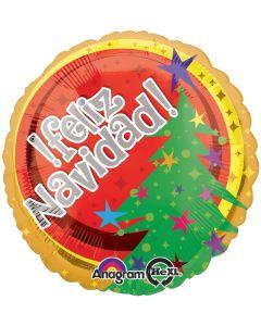 """18"""" Feliz Navidad Tree of Stars"""