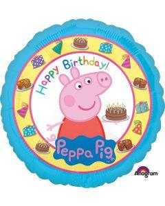 "18"" Peppa Pig Birthday Pkg"