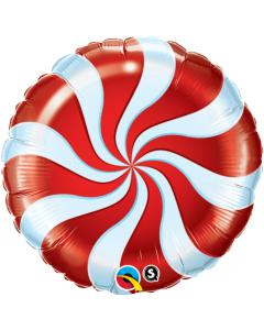 "18"" Candy Swirl Red"