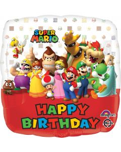 "18"" Mario Bros Birthday"