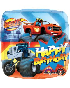 "18"" Blaze Happy Birthday-"