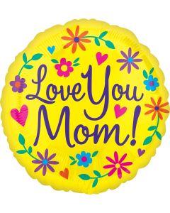 "18"" Love You Mom! Brite"