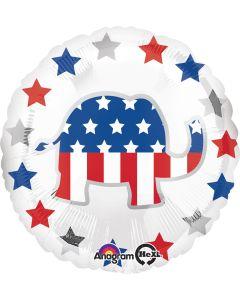 """18"""" Patriotic Elephant"""