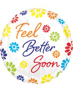 "18"" Feel Better Flowers"