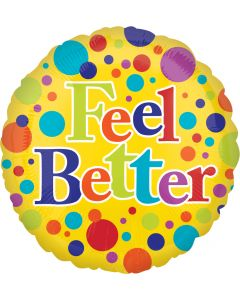 "18"" Feel Better Bright Dots"