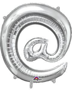 "32""  '@' Symbol Silver"