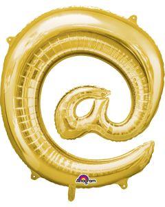 "32""  '@' Symbol Gold"