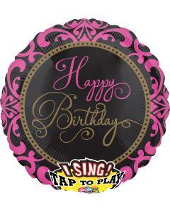 "28"" Fabulous Birthday Singing Balloon"