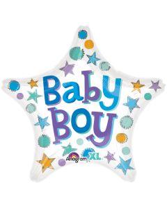 """18"""" Baby Boy Stars Pkg"""