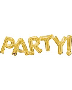 """33"""" Party! In Gold"""