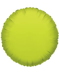 "18"" Lime Green Round"