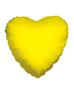 "18"" Yellow Heart"