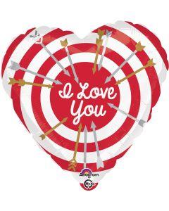 "18"" Target of Love Pkg--"