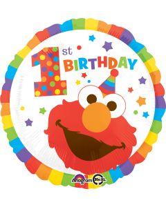 """18"""" Sesame St. 1st Birthday"""