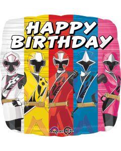 "18"" Power Rangers B'day--"