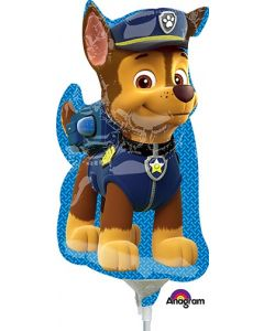 "14"" Paw Patrol - Chase Inflated with Cup & Stick"