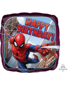 "18"" Spider-Man B'day Pkg"