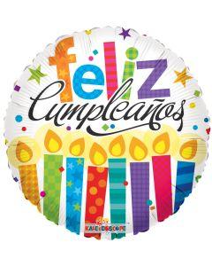 "18"" Feliz Cumpleanos Candles"