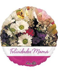 "18"" Felicidades Mama Flowers"