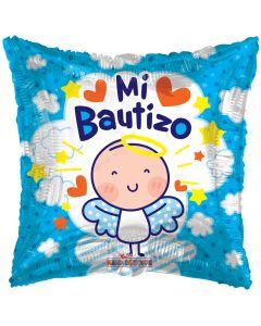 "18"" Angelito Azul Bautizo"