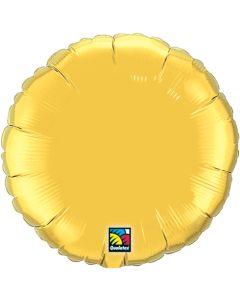 "18""Metallic Gold Round"