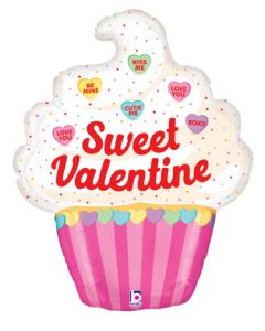 """32"""" Candy Hearts Valentine"""