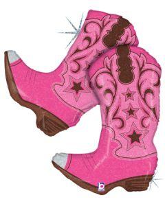 "36"" Dancing Boots Pink"