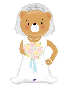 "43"" Linky Bride Bear"