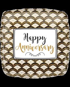 "18"" Anniversary Celebration Gold"