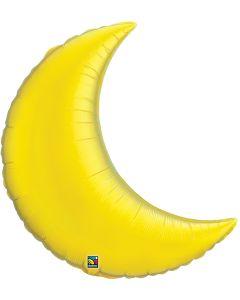 "35"" Citrine Yellow Crescent Moon"