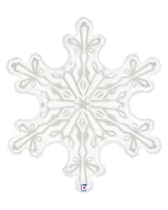 "38"" Clear Snowflake"