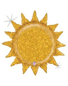 """30"""" Glittering Gold Sun"""