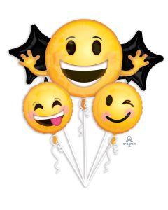 "39"" Smiling Emojis Bouquet"