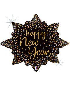 "32"" New Year Confetti Burst"