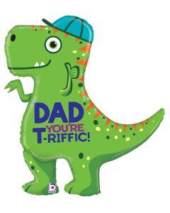 "35"" T-Rex Dad"