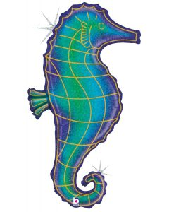 "36"" Glitter Seahorse"