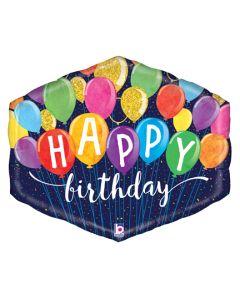"30"" Festive Balloons B'day"
