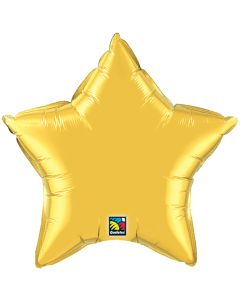 "9"" Metallic Gold Star"