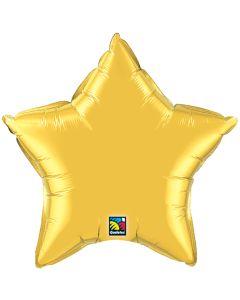 "4""Metallic Gold Star"