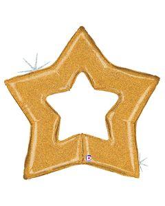 "48"" Glittering Gold Star"