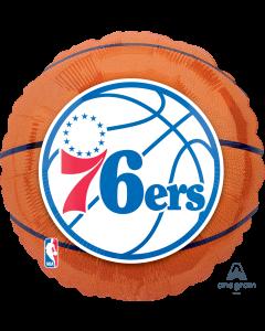 """18"""" Philadelphia 76ers"""