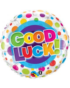 "18"" Colorful Dot Good Luck Pkg"