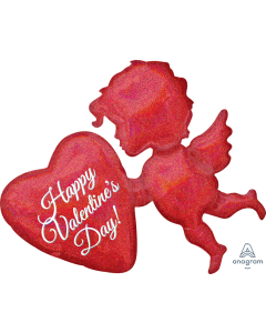 "34"" Sparkling Cupid Valentine"