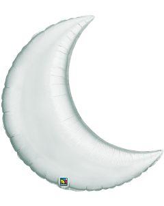 "35"" Silver Crescent Moon"