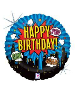 """18"""" Birthday Super Hero"""