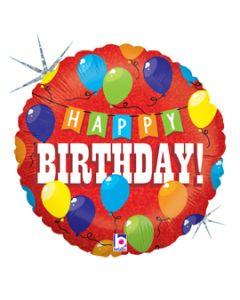 "18"" Birthday Party Time!! Pkg-"
