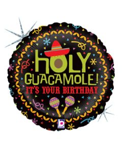 "18"" Holy Guacamole B'day"