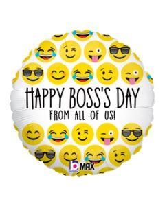 "18"" Boss's Day Emojis"