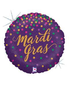 """18"""" Mardi Gras Glitters!"""